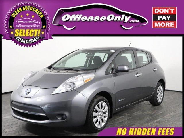 nice Great 2016 Nissan Leaf S Hatchback FWD Off Lease Only 2016 Nissan LEAF S Hatchback FWD Electric 2017/2018