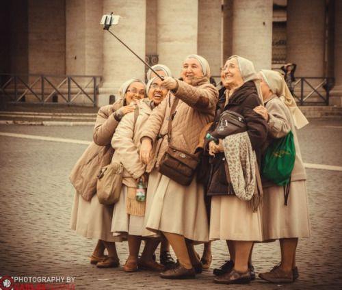 Cute nuns..