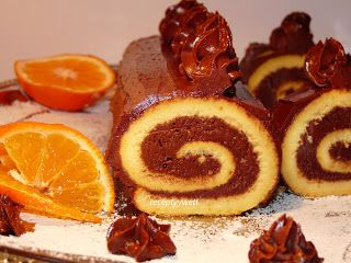 receptyywett : Roláda s kakaovou plnkou