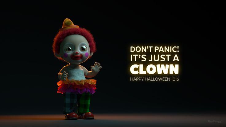 "Se mit @Behance-projekt: ""Just a Clown"" https://www.behance.net/gallery/44576631/Just-a-Clown"