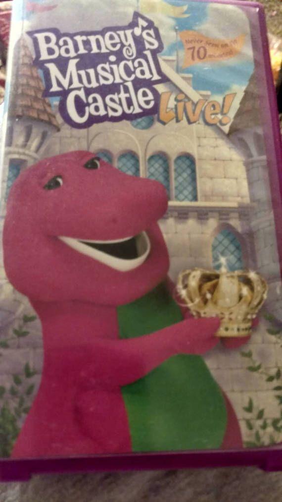 Barney The Dinosaur's 'Barney's Musical Castle