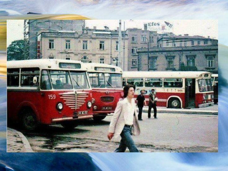 80'li yıllarda İstanbul'un görünümü konulu fotoğraflar 1