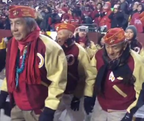 Watch: WWII Navajo Code Talkers in Redskins jackets embrace team name