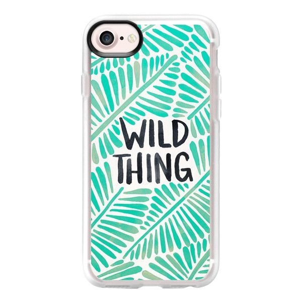 Wild Thing - Mint Palette - iPhone 7 Case And Cover ($40) ❤ liked on Polyvore featuring accessories, tech accessories, phone cases, phone, celular, tech, iphone case, apple iphone case, iphone cases and mint iphone case