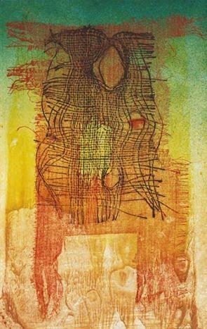 Josef Istler -. Untitled (1977) #art #painting #Czechia