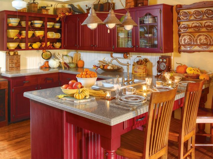 I Love This Kitchen Red Country