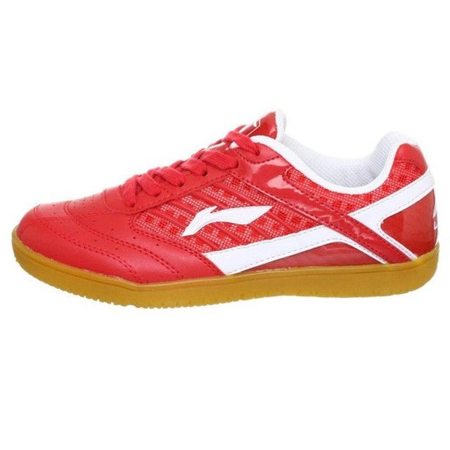 LI-NING Women Table Tennis Shoes Li Ning Support Hard-Wearing Anti-Slippery Sweat-Absorbant Breathable Balance Sneakers APTH002