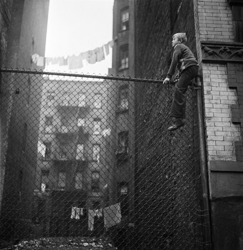 New York, 1947, a photo by Stanley Kubrick