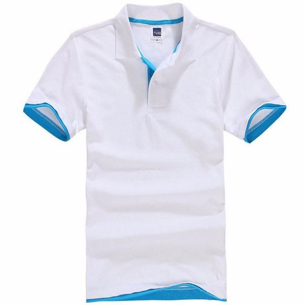 Hommes Polo Floral Stitching Casual Shirt À Manches Courtes Sport Maillots Golf Tennis BNFelzQ