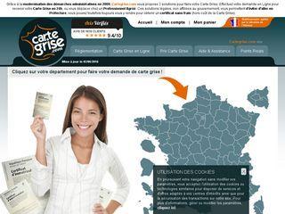 Demander son nouveau certificat d'immatriculation sur Internet par le biais de Cartegrise.com, professionnel agréé et habilité par l'État.