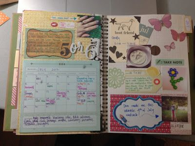 Mrs Crafty Adams | This time last year: Project Life SMASH book July 2012