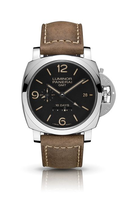 OFFICINE PANERAI - LUMINOR 1950 10 DAYS GMT AUTOMATIC ACCIAIO PAM00533