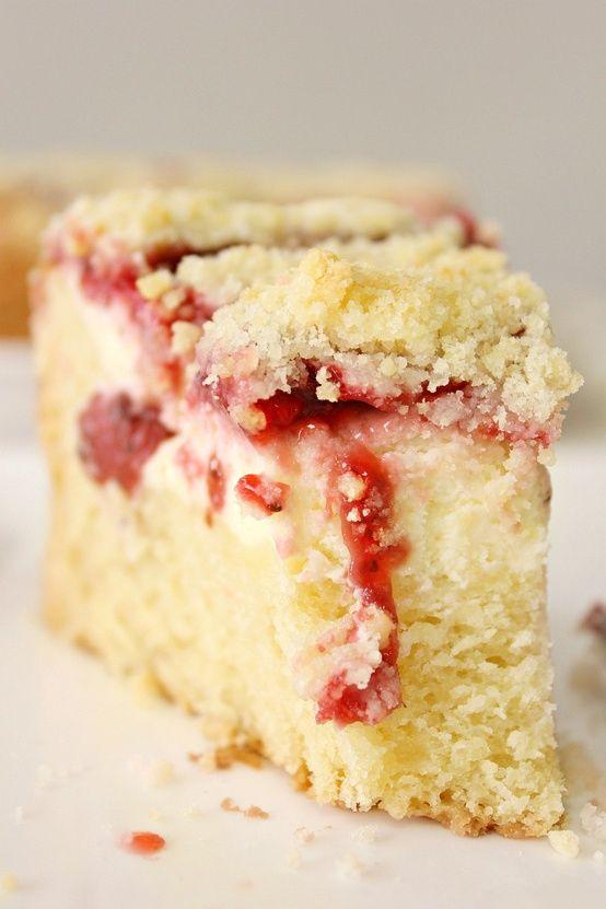 Strawberry Cream Cheese Coffee Cake |