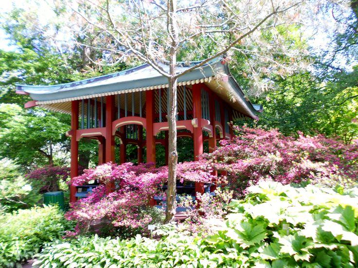 Temple, Botanischer Garten, Botanical Garden, Berlin, Germany