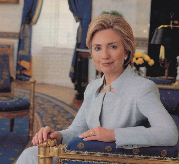 Hillary Clinton photo circa 1999, since then a Senate seat and Secretary of State.
