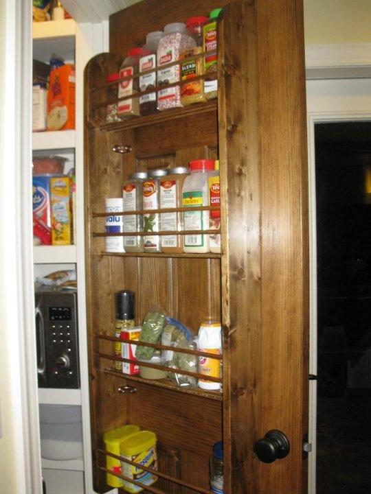 Spice Rack for Large Spice Jars