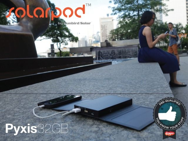 Solarpod Pyxis, The Best Portable USB Battery Pack & Charger by Bill Pike — Kickstarter