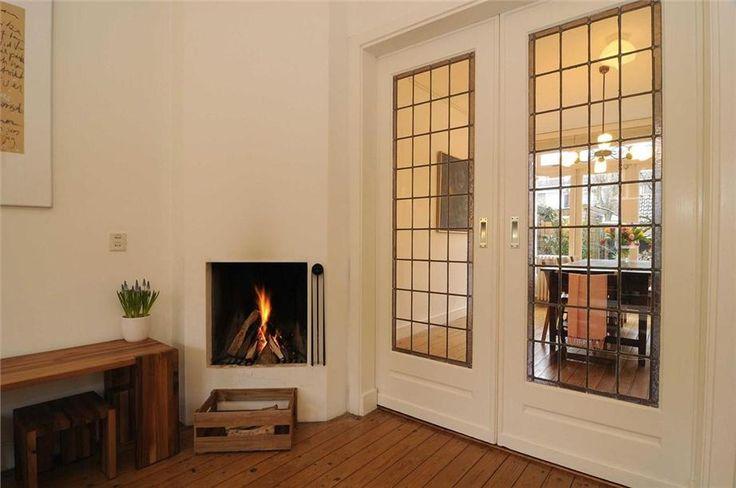 Kamer en suite deuren in een jaren '30 huis in Haarlem