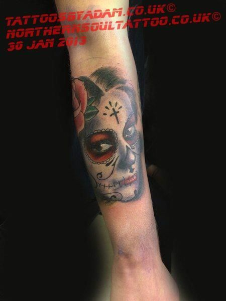 17 best images about tattoos by northern soul tattoo on pinterest day of the dead skulls and. Black Bedroom Furniture Sets. Home Design Ideas