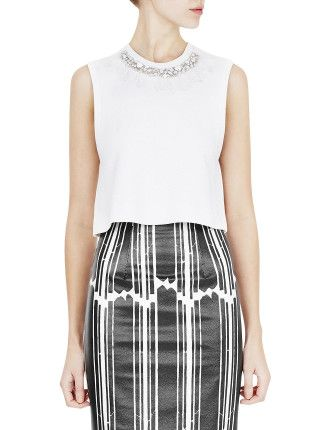 MANNING CARTELL - Glass Master Cropped Top