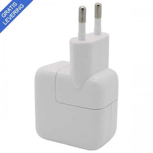 Hvid USB Oplader til IPad og diverse tablets.