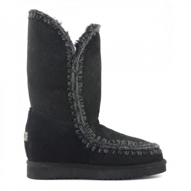 mou eskimo wedge tall black #mou #shoes #loving #christmas #gifts #fashion #christmasgifts