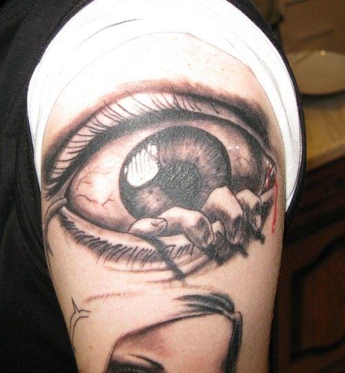 Eye Tattoos Design for Men (6)