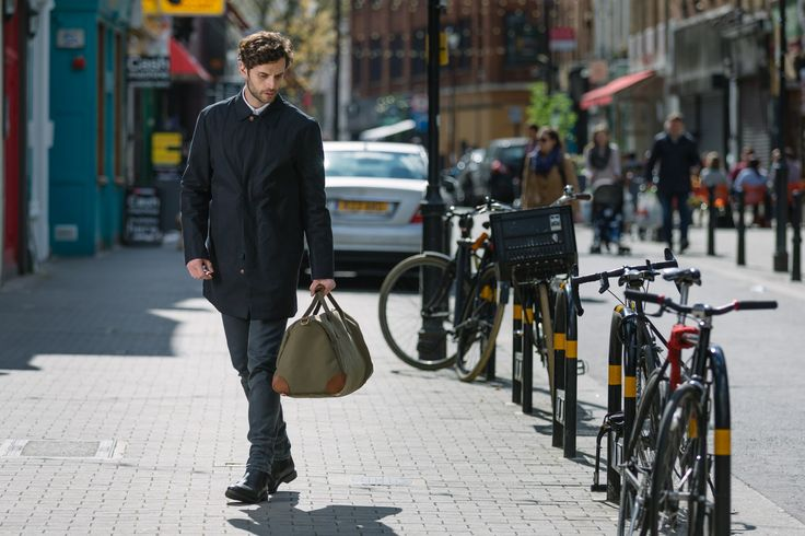 The Commuter Bag In Olive