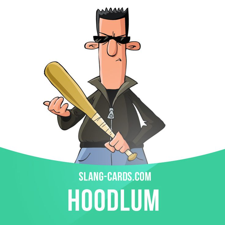"""""""Hoodlum"""" means a criminal or gangster. Example: The streets are a lot safer now that the police have cracked down on those hoodlums."""