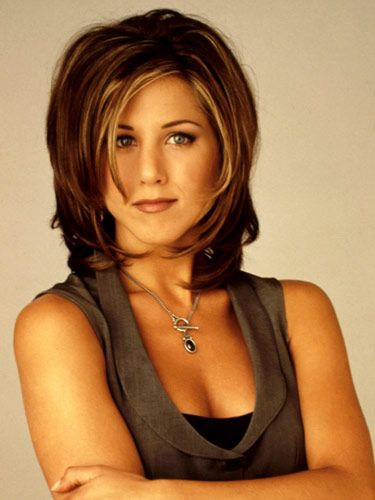 "10 Most Popular Haircuts of All Time>> My style, back in the day- I had this cut and loved it, ""the Rachel"" :)"