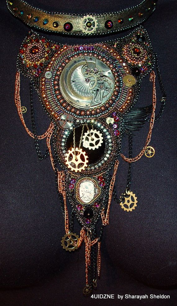 Best images about steampunk embroidery on pinterest