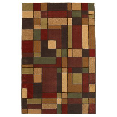 Area rug arts and crafts craftsman style i pinterest best mohawks and dark brown ideas - Frank lloyd wright rugs ...