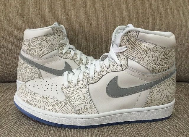 """2015 brings the 30th Anniversary of Jordan Brand, and the powerhouse is celebrating by releasing the Air Jordan 1 High """"Laser"""", seen above."""