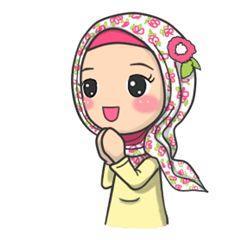 Flower Hijab