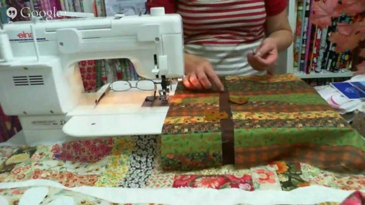 Patchwork Ao Vivo com a Tia Lili #5: patchwork simples e descomplicado