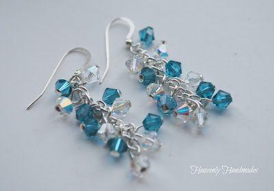 DIY Swarovski Earrings