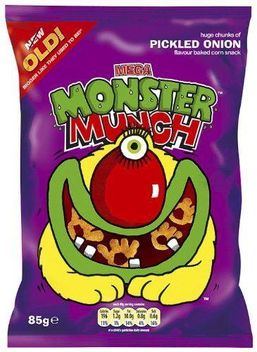 Constantly ate these things. Pickled Onion were my fave!