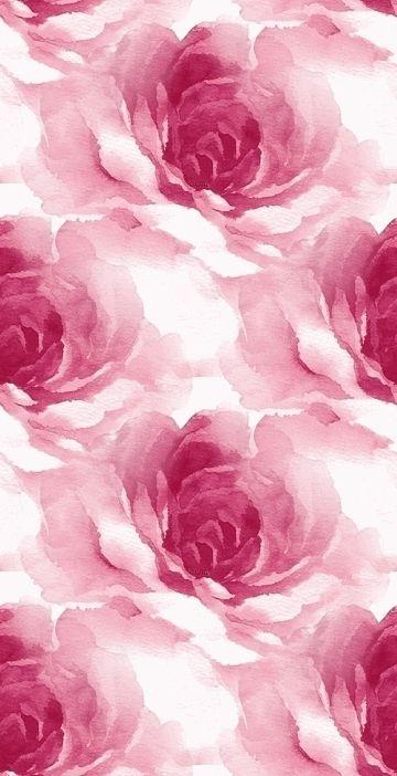 iPhone Wallpaper gorgeous watercolor rose print... - http://centophobe.com/iphone-wallpaper-gorgeous-watercolor-rose-print/ -