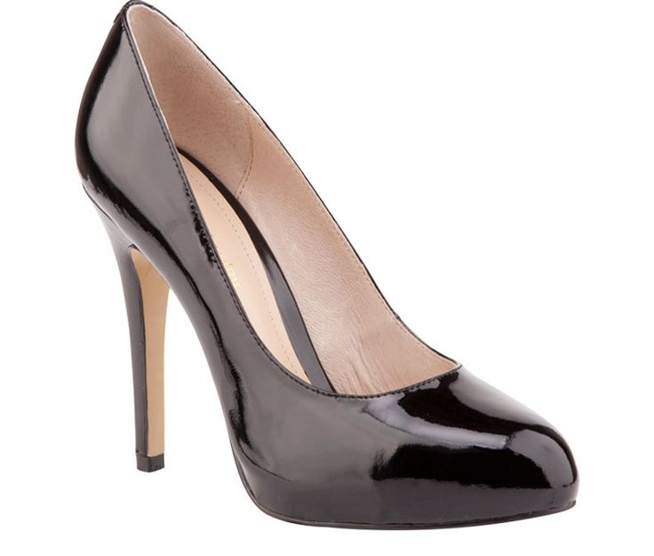 Black pump @Overland Footwear  TIP: Buy closed toe heels so that you can wear them through all seasons by adding hoisery. #sale #basics