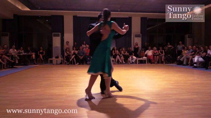 Thanos Syropoulos - Maria Mastoropoulou 1/2, SUNNY TANGO FESTIVAL 2014, ...