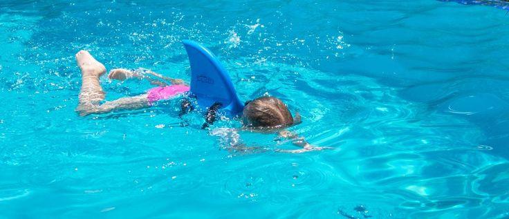 SwimFin Blue swimming aid - SwimFin Australia