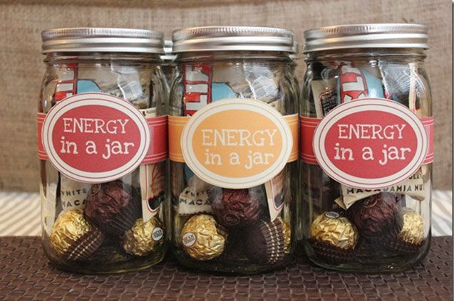 10 Creative Gifts That Come in a Jar via Brit + Co.