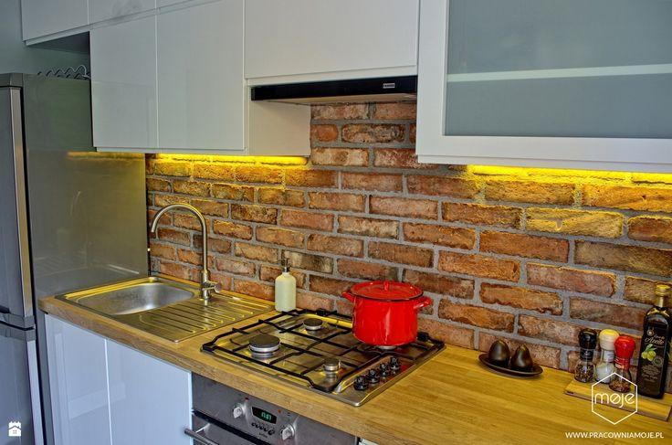 Kuchnia styl Industrialny - zdjęcie od MOJE - Kuchnia - Styl Industrialny - MOJE