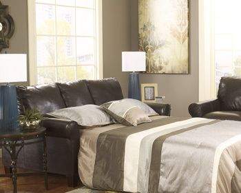 Brown Upholstered Full Sleeper Sofa for sale in Tampa and Bradenton