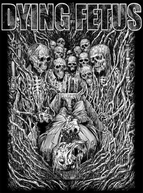 artwork metal death metal technical death metal technical dying fetus