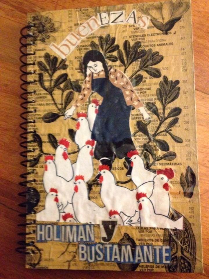 libro cartonero Buenezas | La Joyita Cartonera | Collage | Chusca de Siete Suelas