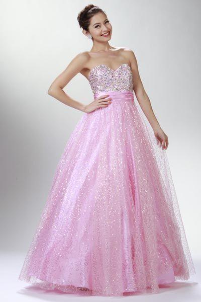 Quinceanera Dress Vestido de 15 Pink @ www.dressdress.net