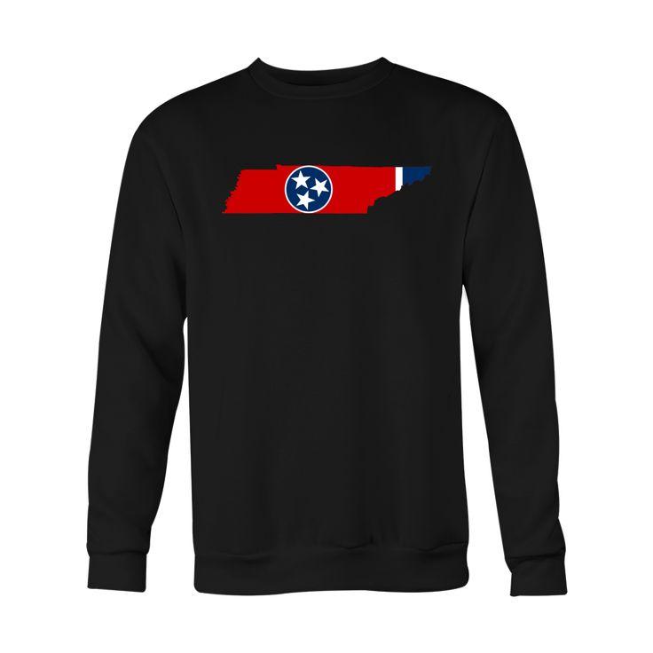 *HOLIDAY SPECIAL* Tennessee Flag Crewneck Sweatshirt