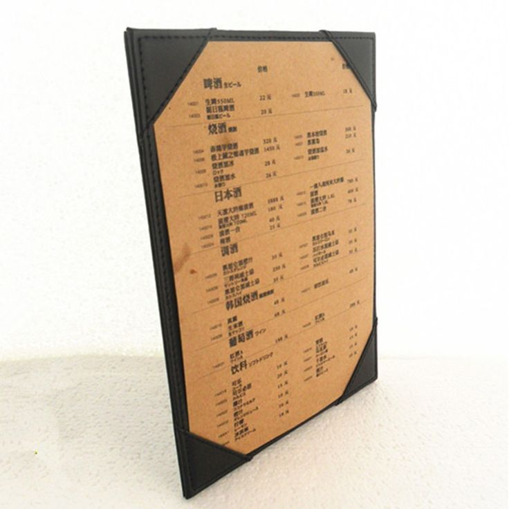 Best 25+ Menu holders ideas on Pinterest | Cafe menu ...