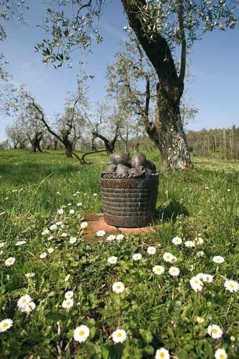 """""""Il bosco virgiliano"""" by Ian Hamilton  Finlay, 1985_Collezione Gori - Fattoria di Celle, Santomato (Pistoia), IT"""